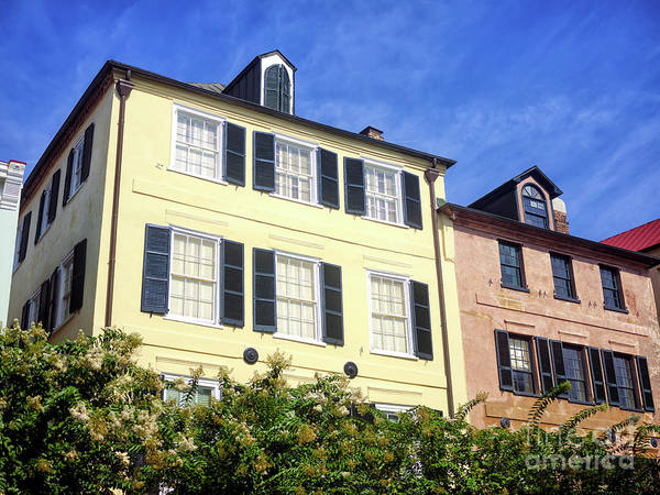 Wall Art - Photograph - Living On Rainbow Row In Charleston by John Rizzuto