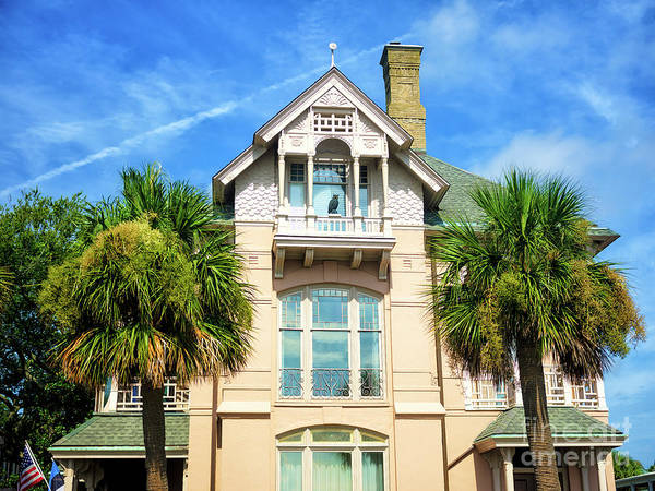 Photograph - Living On The Battery In Charleston by John Rizzuto