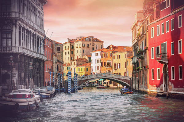 Italia Photograph - Living On Water  Scenes Of Venice Italy  by Carol Japp