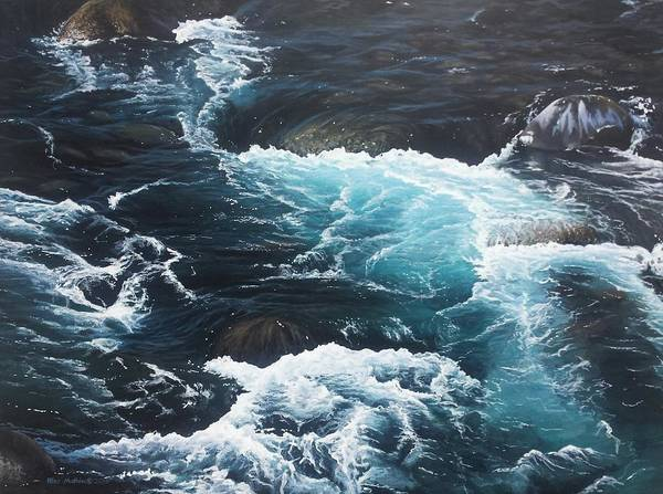 Painting - Living Waters by Peter Mathios