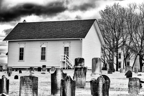 Photograph - Living With The Dead At Second English Presbyterian Church Of Amwell by John Rizzuto