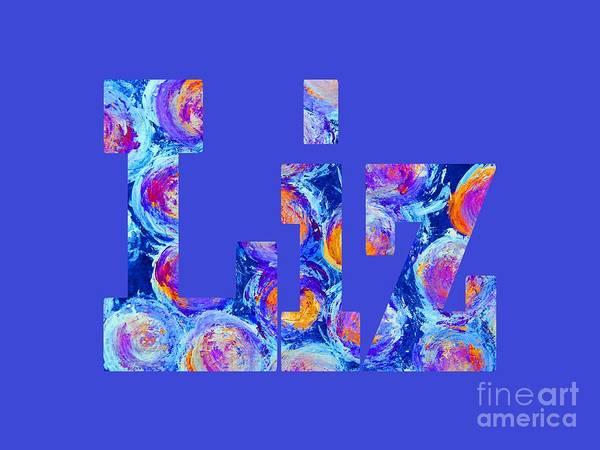 Digital Art - Liz by Corinne Carroll