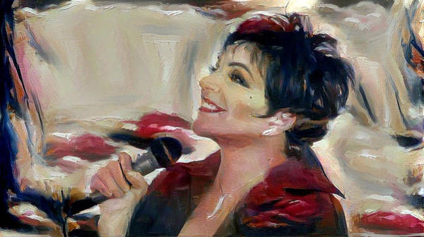 Digital Art - Liza by Richard Laeton