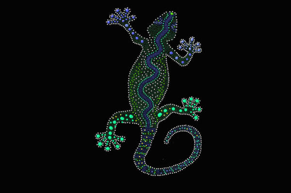 Digital Art - Lizard Art - Digital Art by Ericamaxine Price
