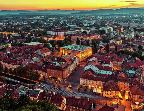 Ljubljana Wall Art - Photograph - Ljubljana by Figurative Speech
