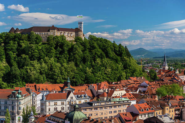 Ljubljana Slovenia Art Print by Keith Mcinnes Photography