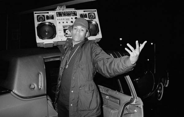 1980 1989 Photograph - Ll Cool J by Michael Ochs Archives