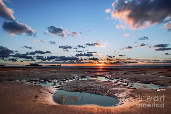 Photograph - Llangennith Beach by Minolta D