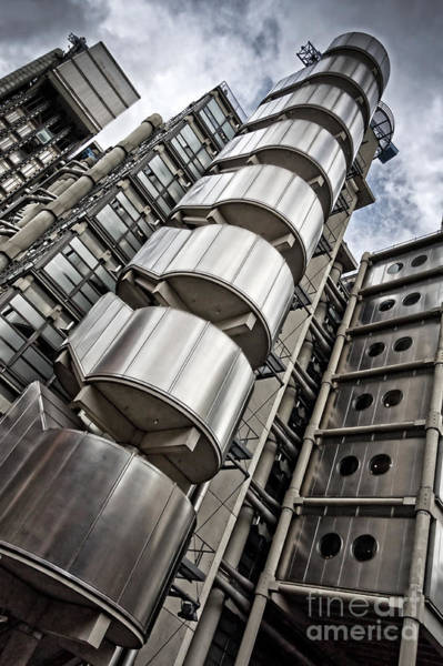 Wall Art - Photograph - Lloyds Building In London by Delphimages Photo Creations