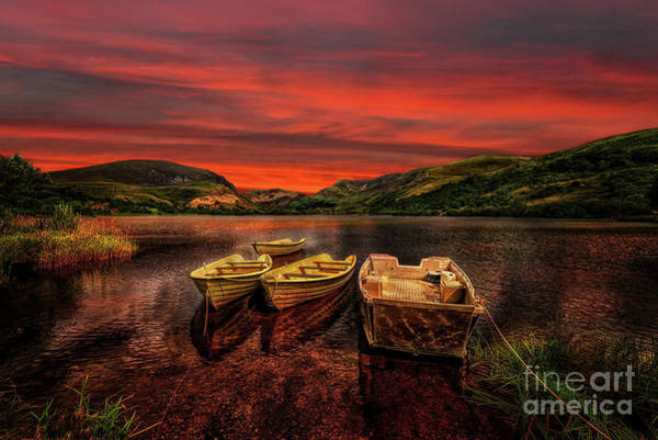 Photograph - Llyn Nantlle Uchaf Snowdonia by Adrian Evans