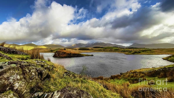 Wall Art - Photograph - Llyn Y Dywarchen Snowdonia by Adrian Evans
