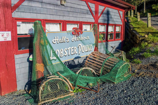Maritime Provinces Photograph - Lobster Pond Restaurant In Halls Harbour Ns by David Smith