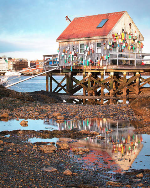 Wall Art - Photograph - Lobster Shack Reflections by Eric Gendron