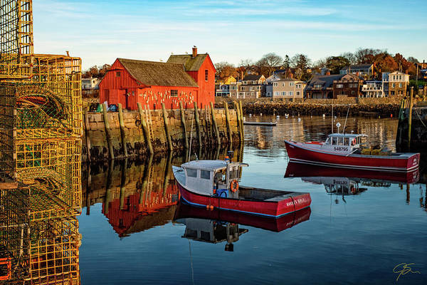 Photograph - Lobster Traps, Lobster Boats, And Motif #1 by Jeff Sinon