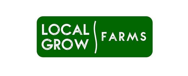 Drawing - Local Grow Farms Logo On Light Backgrounds by Charlie Szoradi