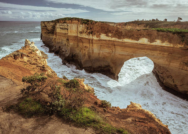 Wall Art - Photograph - Loch Ard Gorge by Dave Bowman