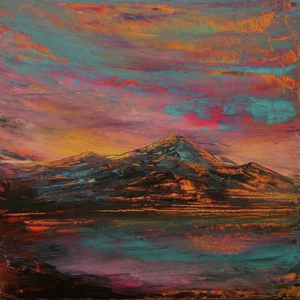 Wall Art - Painting - Loch Awe Colours by Kevin Sean Oconnell