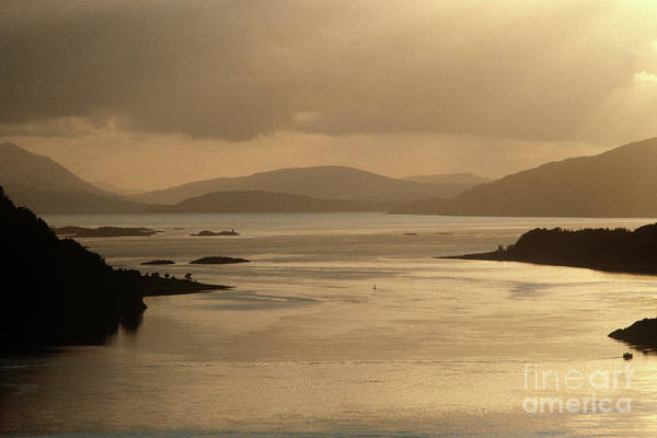 Wall Art - Photograph - Loch Carron From The Kyle Of Lochalsh Line, North West Coast Of Scotland by Alain Le Garsmeur