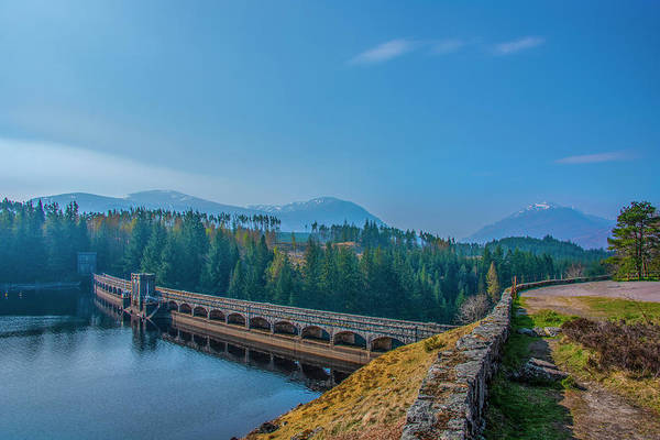 Photograph - Loch Laggan Dam by Bill Cannon
