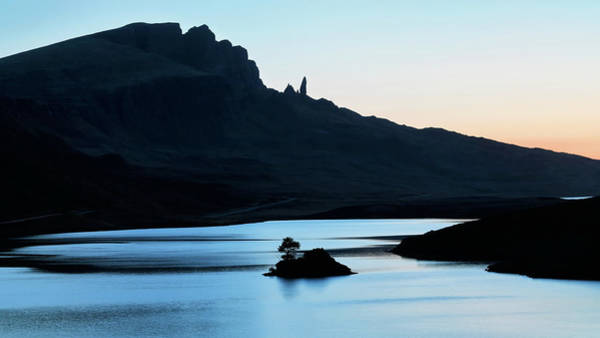 Photograph - Loch Leathan And The Storr by Nicholas Blackwell