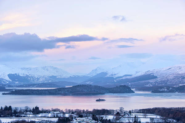 Photograph - Loch Lomond In Winter by Theasis