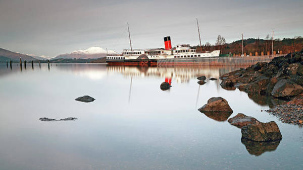 Photograph - Loch Lomond Shores by Grant Glendinning
