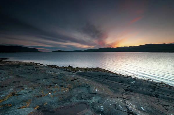 Loch Wall Art - Mixed Media - Loch Na Keal by Smart Aviation