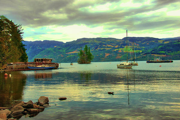 Wall Art - Photograph - Loch Ness - Scottish Highlands by Bill Cannon