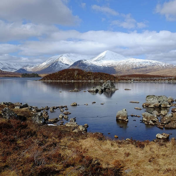Moor Photograph - Lochan Na Hachlaise by Andrew Lockie