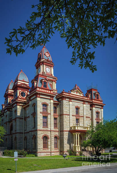 Photograph - Lockhart Courthouse by Inge Johnsson