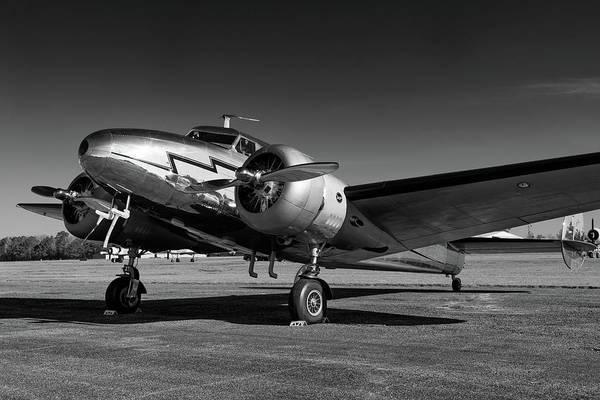 Photograph - Lockheed 12a Electra by Chris Buff