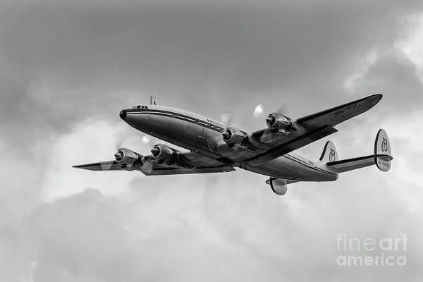 Photograph - Lockheed Breitling Super Constellation  by Andy Myatt