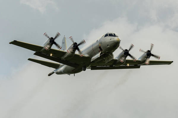 Photograph - Lockheed P-3c Orion Bomb Doors Open At Raf Cosford 2019 by Scott Lyons