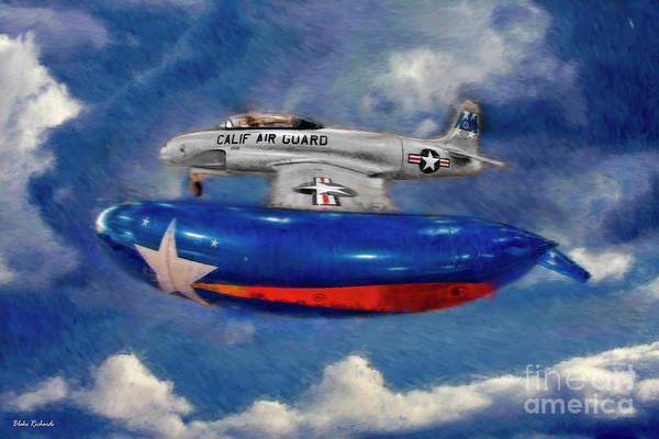 Photograph - Lockheed T-33 Shooting Star 1948 Tee Bird by Blake Richards