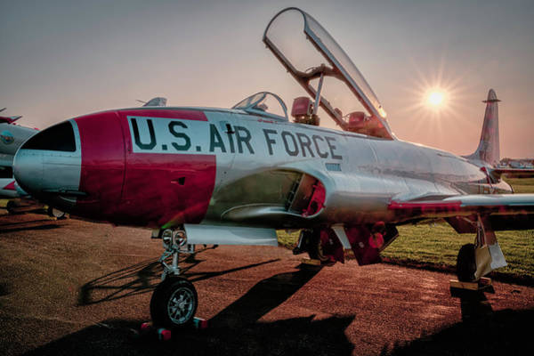 Photograph - Lockheed Trainer by Laura Hedien