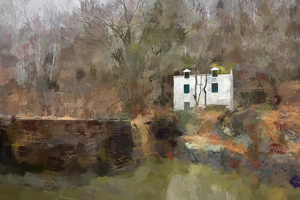 Chesapeake And Ohio Wall Art - Photograph - Lockhouse On The Canal by Francis Sullivan