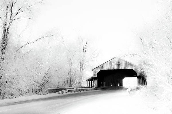Photograph - Lockport Covered Bridge by Michael Arend