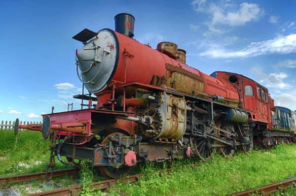 Photograph - Loco 1313 V2 by Steam Train