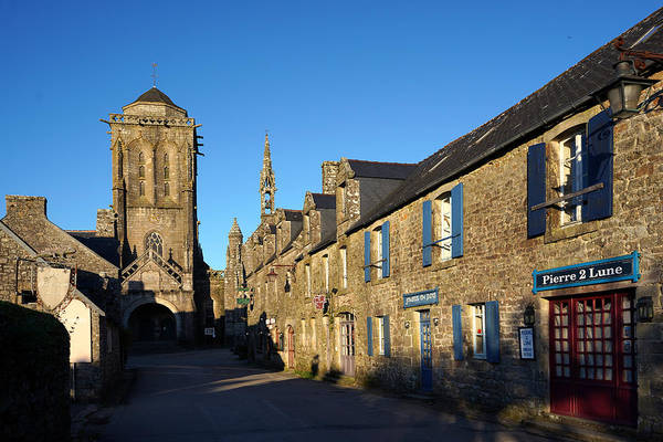 Photograph - Locronan 11 by Andrew Fare