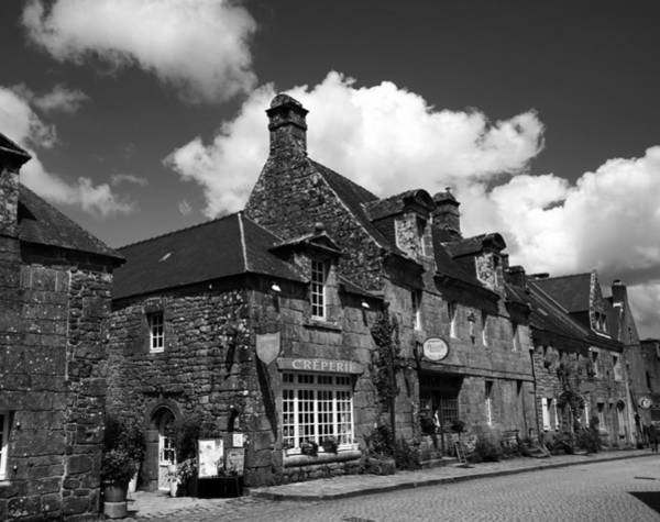 Photograph - Locronan 3bw by Andrew Fare