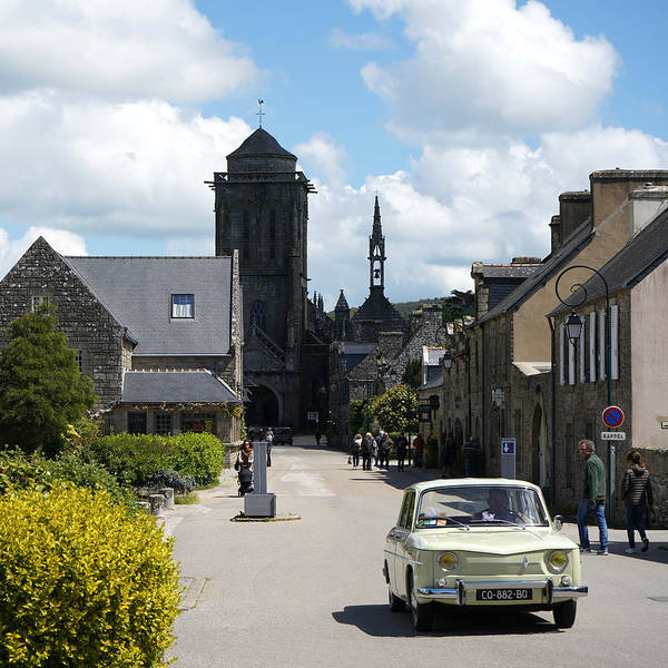 Photograph - Locronan 4 by Andrew Fare