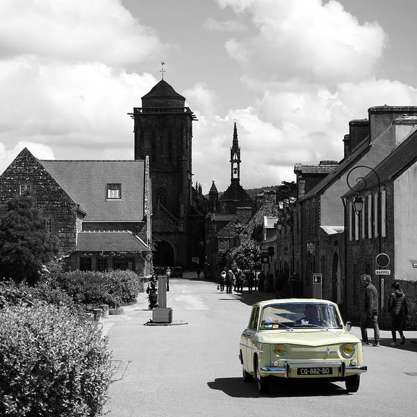 Photograph - Locronan 4b by Andrew Fare