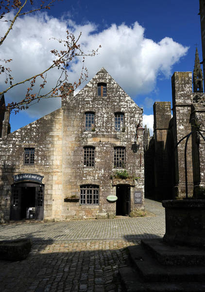 Photograph - Locronan 9 by Andrew Fare