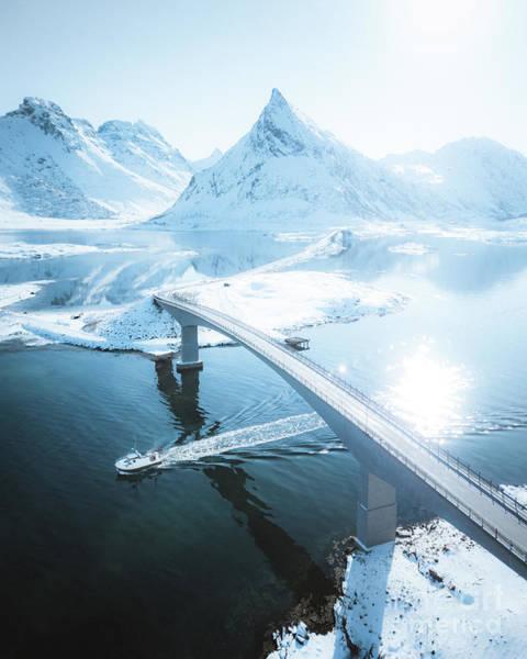 Wall Art - Photograph - Lofoten Islands Winter Dream by JR Photography