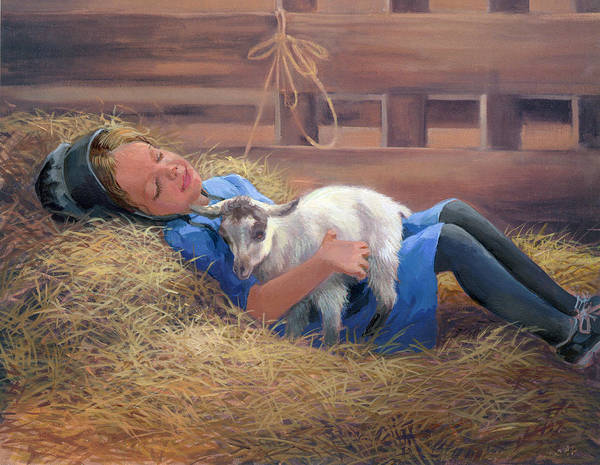 Wall Art - Painting - Lofty Dreams by Laurie Snow Hein