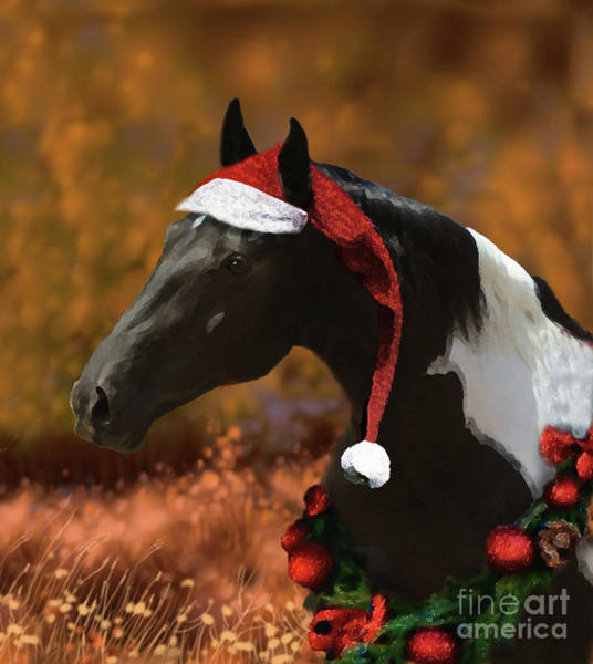 Digital Art - Logan's Christmas by Melinda Hughes-Berland