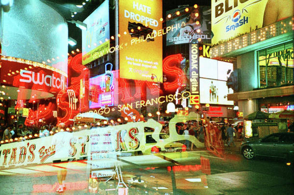 Multi Exposure Photograph - Lomo_nyc_xpro_2x_001 by Eyetwist / Kevin Balluff