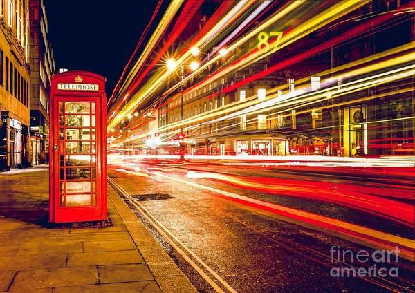 Digital Art - London 2 by Michael Graham