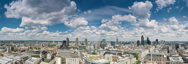 Wall Art - Photograph - London Big Sky Cityscape by Fotovoyager