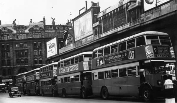 English Culture Photograph - London Buses by John F Stephenson